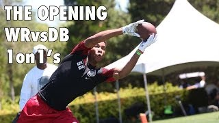 The Opening 2014: WR vs DB 1 on 1's
