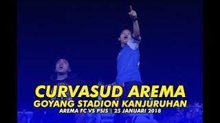 Video CURVASUD AREMA GOYANG STADION KANJURUHAN SAAT AREMA VS PSIS 25 JANUARI 2018 MP3, 3GP, MP4, WEBM, AVI, FLV September 2018