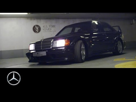 Mercedes-Benz 190 E 2.5-16 EVO 2: Parking Lot Thunder   ALL TIME STARS