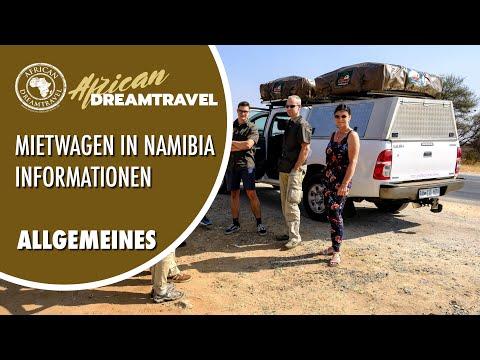 Namibia und Südafrika: Mietwagen - Informationen und S ...