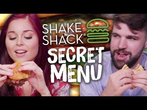 Shake Shack SECRET MENU Items! (Cheat Day)