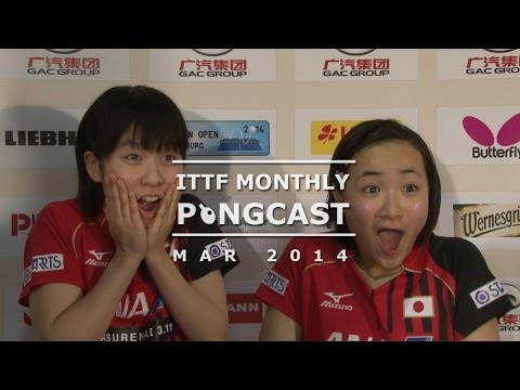 monthly - Join the ITTF's Monthly Pongcast as it looks at all the international table tennis action in March. This month the Pongcast reviews all the ITTF events that ...