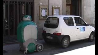 Peccioli Italy  city photo : DustCart Robot in Peccioli