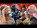 Idosos Reagem A Mortal Kombat 11 Fatality Brutality E F