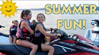 IT'S HANGING ON TO SUMMER FUN
