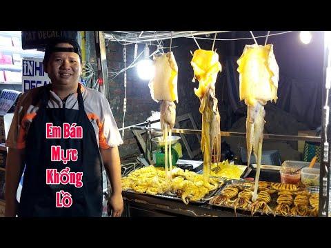 Xuất hiện mực siêu khổng lồ nướng sa tế (Cay Xé Họng) ở Sài Gòn | saigon travel Guide - Thời lượng: 15 phút.