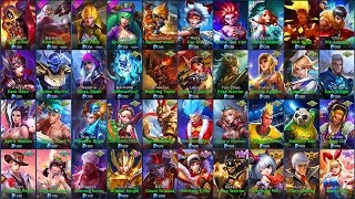 Video Mobile Legends ALL SKINS (iOS/Android) MP3, 3GP, MP4, WEBM, AVI, FLV Juni 2018