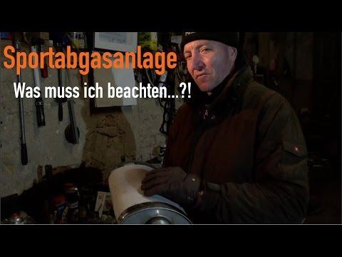 Abgasanlage - Was muss ich beachten...?! Erklärt vom Kfz Meister