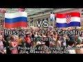 Russia vs Croatia, Fans React