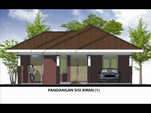 pelan rumah banglo - Sila layari http://www.rekabentukrumah.com untuk tempahan pelan. Rekabentuk Pelan Rumah A1-09 (Banglo setingkat 3 bilik/ 1 bilik air berkeluasan 78.8 meter p...