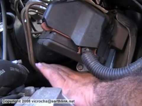 Volvo S80 S70 V70 XC ABS Control Unit Removal Instructions