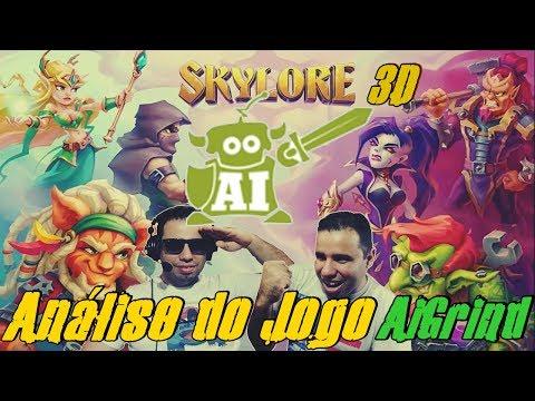 SkyLore Online 3D - 1ª Análise do Novo Jogo da Aigrind (BR)