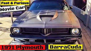 Nonton Fast & Furious  Plymouth BarraCuda movie car  From Fast 7 Film Subtitle Indonesia Streaming Movie Download
