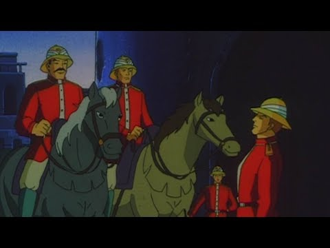 THE ATTACK OF RAJMANGAL - Sandokan, season 1 ep. 13 - EN