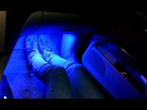 Подсветка ног шевроле круз снимок