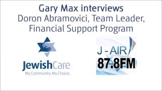 This interview on J-Air Radio features Doron Abramovici, Team Leader, Jewish Care Financial Support Program speaking about the range of financial services available to the community.These services include:Empower Interest Free LoansSaver PlusFinancial CounsellingFinancial Aid