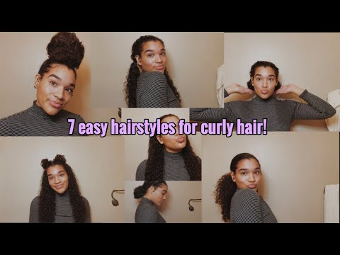 Curly hairstyles - 7 HAIRSTYLES FOR CURLY HAIR