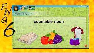 สื่อการเรียนการสอน How much rice do we have (การถามตอบจำนวน) ป.6 ภาษาอังกฤษ