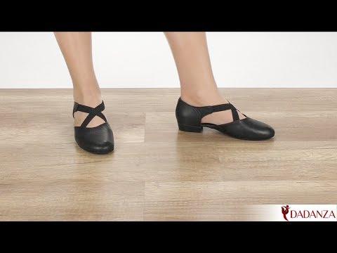Rumpf 1313 Griechische Sandale - Damen Tanzschuhe