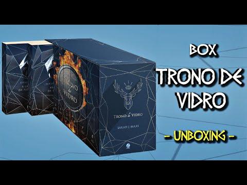BOX TRONO DE VIDRO | Unboxing | Galera Record