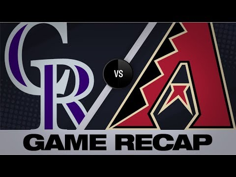 Video: Walker, Greinke lead D-backs past Rockies | Rockies-D-backs Game Highlights 7/5/19