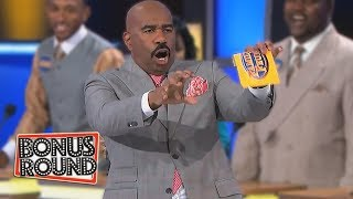 Video BOOB Answers From Family Feud Steve Harvey Can't Believe What He's Hearing! MP3, 3GP, MP4, WEBM, AVI, FLV Juni 2019