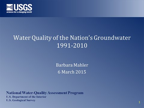 Quality of Our Nation's Groundwater