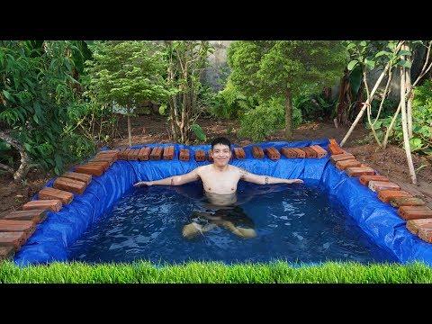 NTN - Phá Tan Cơn Nóng Với Bể Bơi Dưới Lòng Đất ( Underground pool ) - Thời lượng: 14 phút.