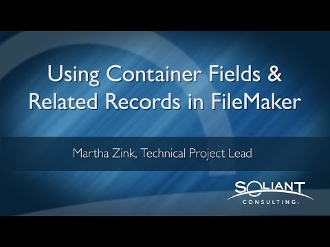 Using Container Fields and Related Records in FileMaker