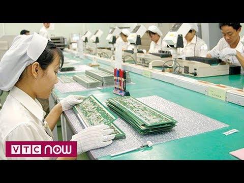 Việt Nam thu về 20 tỷ USD nhờ xuất khẩu máy tính | VTC1 - Thời lượng: 49 giây.