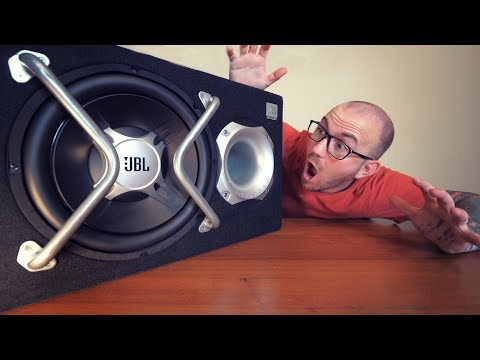 Cum sa instalezi un AMPLIFICATOR si un SUBWOOFER AUTO in casa? - ASA!