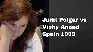 Judit Polgar's Best Game: J Polgar vs Anand