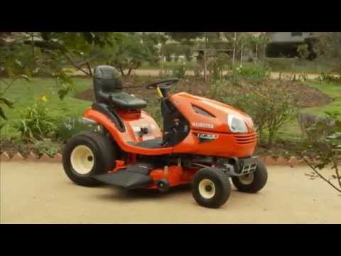 Kubota T80 Series Ride on Mowers