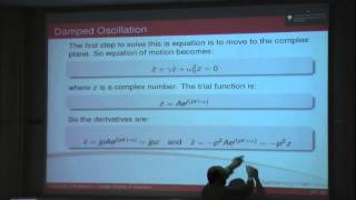 Dynamics, Noise&Vibration - Ch. 2 - SDOF Basics - Part 1 (Lecture 1)