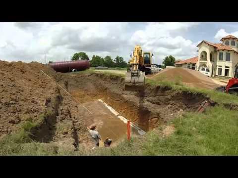 Underground Rainwater Tank - Houston, Texas
