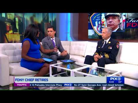 FDNY Chief Joseph Pfeifer talks legacy, retirement