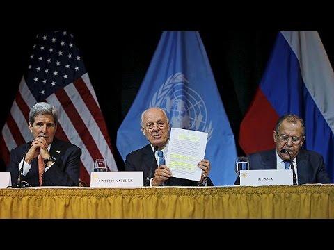 Βιέννη: Οδικός χάρτης για την πολιτική μετάβαση στη Συρία