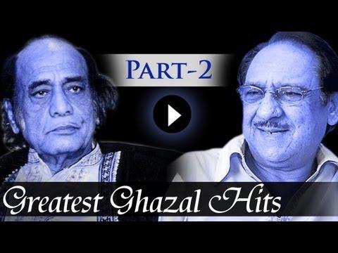 Greatest Ghazal Hit Songs – Part 2 – Ghulam Ali – Mehdi Hassan – Kings Of Ghazal