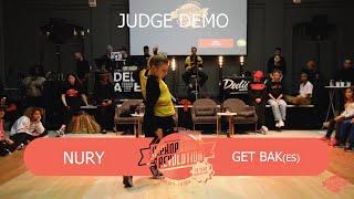 Nury – Hiphop Revolution Festival 2019 Judge Demo