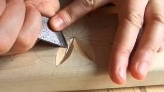 Геометрическая резьба по дереву. Урок 4