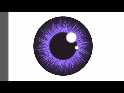 👀👀👀Eye Iris Pupil - Adobe Illustrator Cs6 Tutorial. How To Draw Nice Vector Illustration.