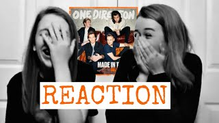 ONE DIRECTION // MADE IN THE A.M. REACTION