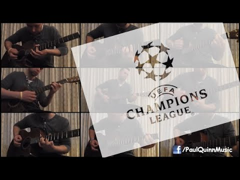 champions - Arranged by ear and performed by Paul Quinn. Tabs for a lot of my arrangements available on my FB page: https://www.facebook.com/PaulQuinnMusic The UEFA Cham...