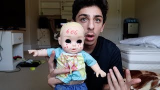 """WTF GUYSI woke up this morning and see the doll that we saw at the haunted tunnel on the hood of my car. That's so creepy I have no idea how that got there. We're definitely installing cameras now. Hope you guys did enjoy the vlog, I also golfed from my backyard :D SUBSCRIBE IF YOU ARE NEW!!• SUBSCRIBE IF YOU'RE NEW - http://bit.ly/SubToRugAdd me on Snapchat! """"thefazerug""""Follow me on my Social Media to stay connected!Twitter - https://twitter.com/FaZeRugInstagram - https://instagram.com/rugfazeSnapchat - """"thefazerug"""" (Add me to see how I live my daily life) :DIf you read this far down the description I love you"""