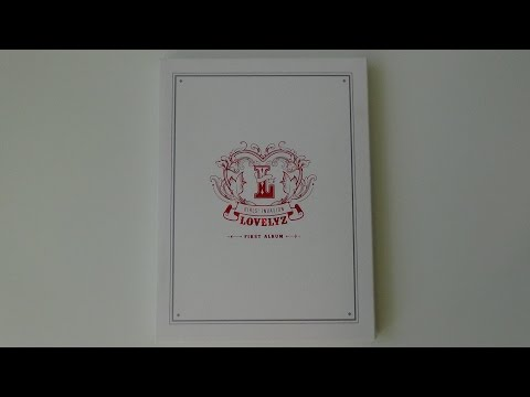 Unboxing Lovelyz 러블리즈 1st Studio Album Girls' Invasion (видео)