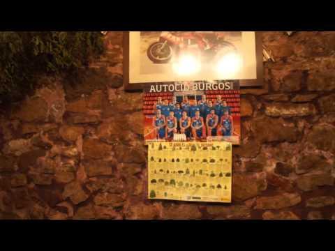 Bar vor Espinosa del Camino, 7. Etappe