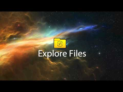 Video of Explore Files