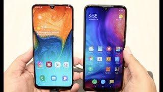 Samsung Galaxy A30 vs Xiaomi Redmi Note 7 Comparison Review, Camera, Features | Hindi 2019