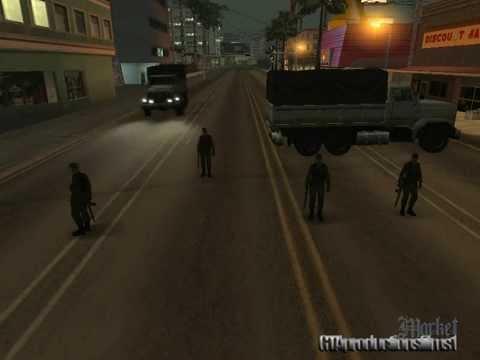 Gta San Andreas - El Dia Despues De La Muerte Cap 1: La Invasion