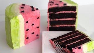 Cute KAWAII Watermelon CAKE!